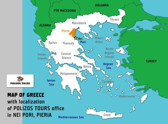 Harta Nei Pori Litoral Harta Nei Pori Grecia Harti Nei Pori Grecia
