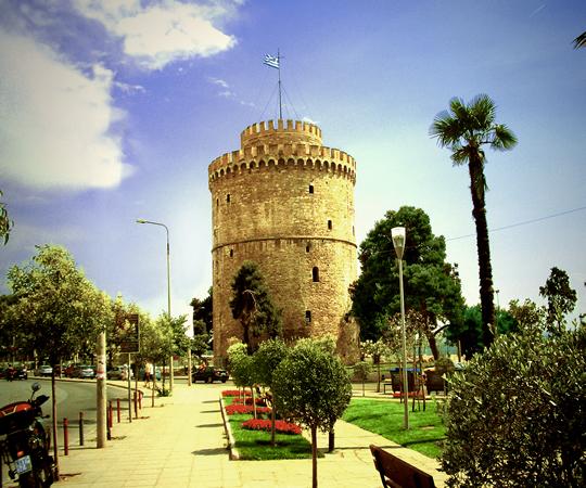 Salonic, orasul Salonic, Turnul Alb din Salonic